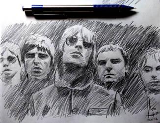 Oasis Sketch by SubliminAlex