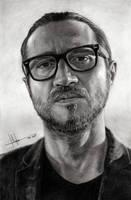John Frusciante Portrait by SubliminAlex