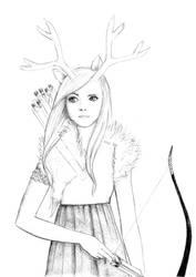 Forest spirit by jitushka
