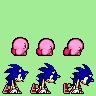 Sonic Kirby Start Dash Pose by SkytheStarhero