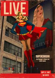 LIVE supergirl magazine by DESPOP