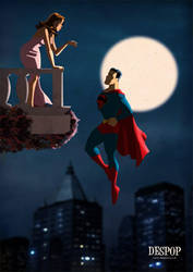 Superman and Lois / Romeo and Juliet style by DESPOP