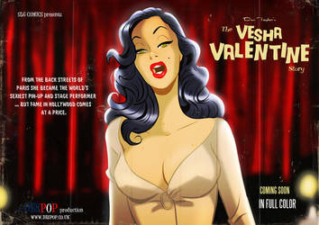 Vesha Valentine Wallpaper by DESPOP
