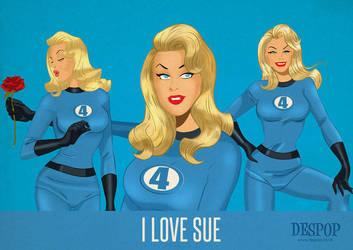 I Love Sue Storm by DESPOP