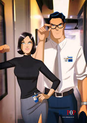 Lois And Clark by DESPOP
