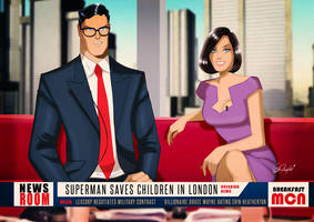 METROPOLIS MORNING NEWS... With Lois and Clark. by DESPOP