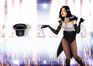 Zatanna the Super Showgirl by DESPOP