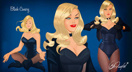 Black Canary ROCKS by DESPOP