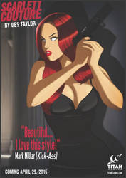 Spy thriller Scarlett Couture release date by DESPOP