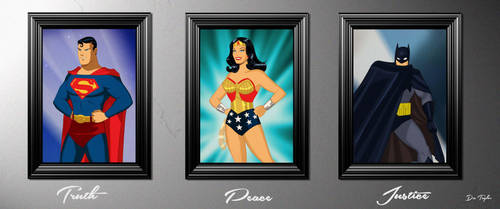 Truth Peace Justice- By Des Taylor by DESPOP