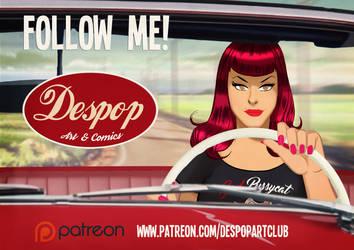 Follow DESPOP on Patreon! by DESPOP