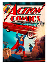 Des Taylor Action Comics release! by DESPOP