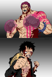 One Piece 893 - Luffy vs Dogtooth by Ammar69