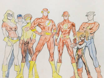 The Flash Family by Schadwen