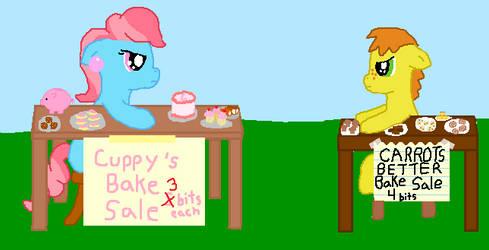 Cake War by Graciegirl328