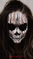 Halloween Face Paint by MichaelBroussard