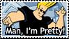 Stamp - Johnny Bravo by rthr-x