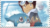 Daisuke and Veemon Stamp by Storm-the-Chao