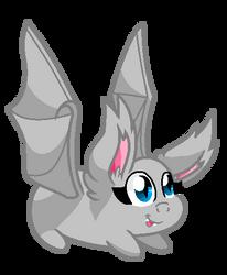 Base 34: The Chibi-est Little Batpony Ever. by MADZbases