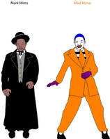 Mad Mime And Mark Mims by MitchThe1Soul
