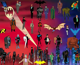 Batman: The Animated Series Collage by MitchThe1Soul