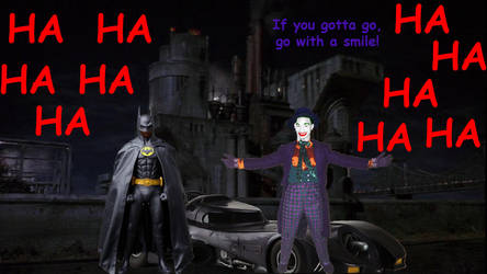 Batman And Joker by MitchThe1Soul