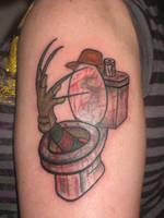 Freddy Krueger in a Toilet Tat by redsamuraidragon