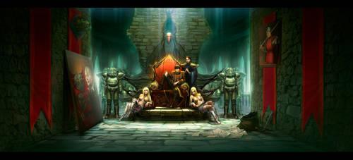 Throne Hall by anndr