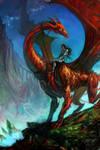 Dragonrider by anndr