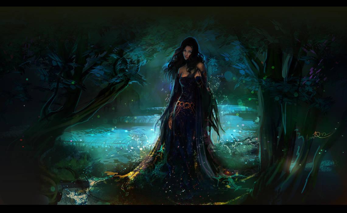 Dark water by anndr