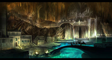 Underground city by anndr