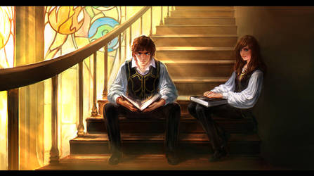 magic of studying by anndr