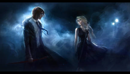 Through the eyes of the night by anndr