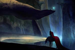 sad knight by anndr