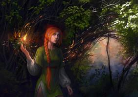 Little fire by anndr