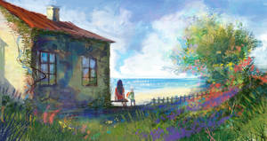 House at the world's end by anndr