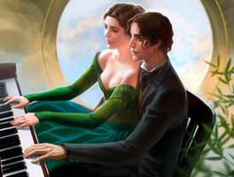 Piano duet by anndr