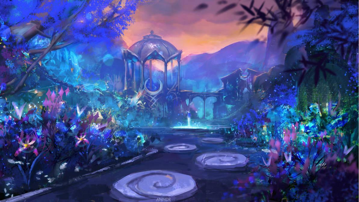 Suramar Garden by anndr