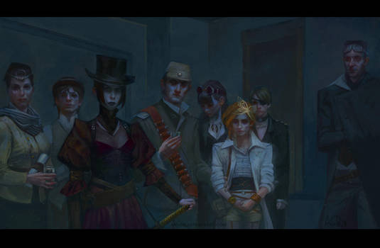 party of antiheroes by anndr