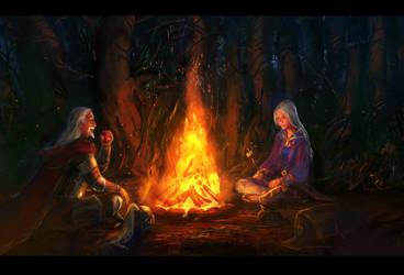 campfire by anndr