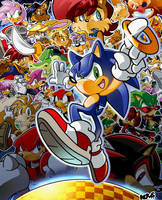 Sonic Hedgehog by herms85