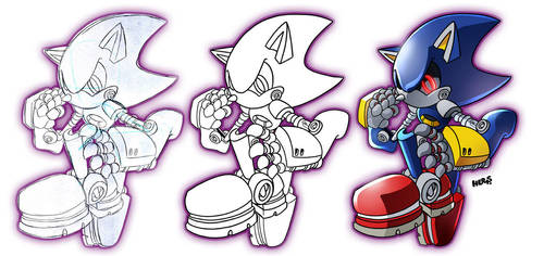 Metal Sonic by herms85