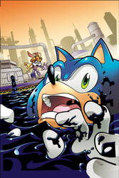Sonic the Hedgehog 217 Cover by herms85