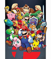 Smash Bros, Est 1999 by herms85