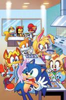 Kooky Cookies! (Sonic the Hedgehog 294 Variant) by herms85