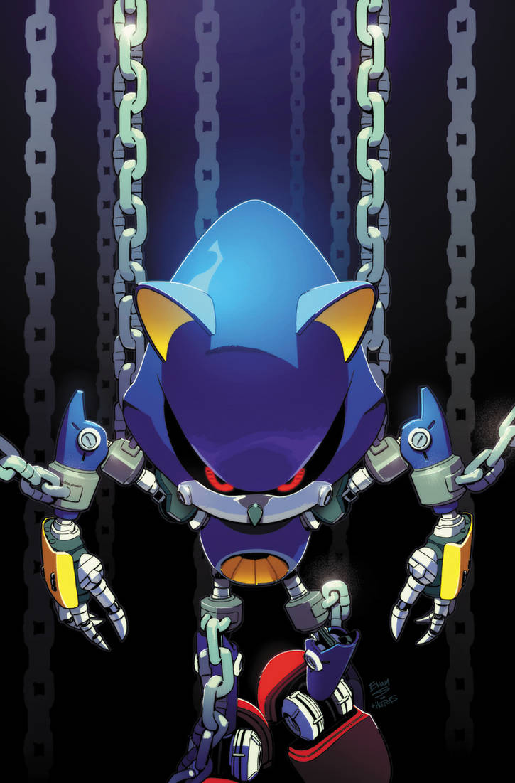 Sonic the Hedgehog (IDW) 12 Cover by herms85
