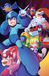 The Blue Bomber is Back by herms85