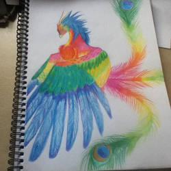 Oriental Phoenix by LookAliveHolly
