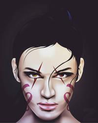 portrait art by zakysaid