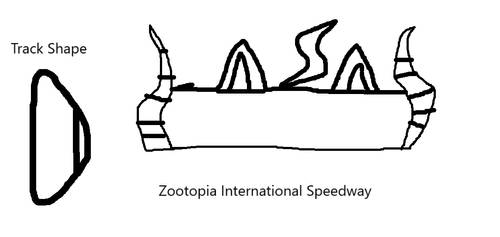 Zootopia International Speedway by Wolfofzootopia